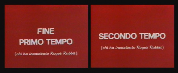 Cinema • Re: Chi ha incastrato Roger Rabbit